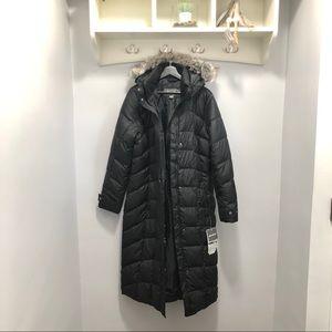 Eddie Bauer Down Duffle Coat Black Size: XL